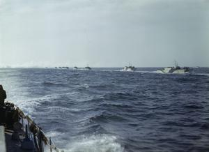 AMPHIBIOUS EXERCISES IN THE ENGLISH CHANNEL, 1943