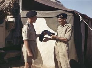 GENERAL BERNARD MONTGOMERY, COMMANDER OF THE EIGHTH ARMY, ITALY, 30 SEPTEMBER 1943
