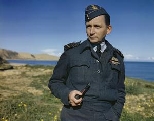AIR CHIEF MARSHAL SIR ARTHUR TEDDER, AIR COMMANDER IN CHIEF MEDITERRANEAN AIR COMMAND, ITALY, 17 DECEMBER 1943