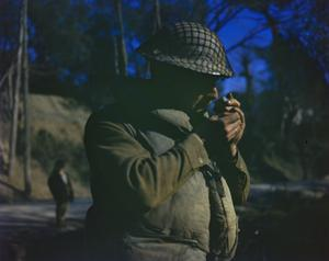 THE CROSSING OF THE GARIGLIANO RIVER, ITALY BY THE FIFTH ARMY ON THE NIGHT OF 17 - 18 JANUARY 1944