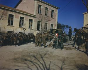 THE FIFTH ARMY IN LAURO, ITALY, 19 JANUARY 1944