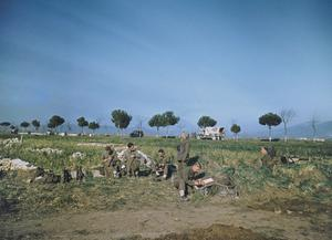 CROSSING OF THE GARIGLIANO RIVER BY THE FIFTH ARMY, ITALY, 19 JANUARY 1944