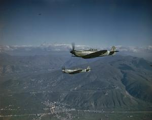 SUPERMARINE SPITFIRES OF THE ROYAL AIR FORCE IN ITALY, JANUARY 1944