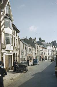 THE BRITISH FISHING VILLAGE OF BRIXHAM, DEVON IN 1944