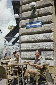 THE BRITISH ARMY ON LEAVE IN ITALY, JUNE 1944