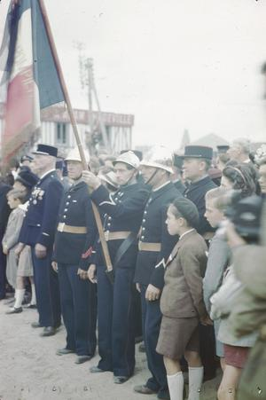 BASTILLE DAY IN COURSEULLES, NORMANDY, 14 JULY 1944
