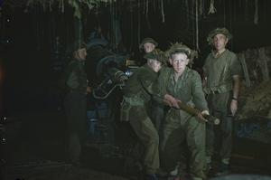 THE BRITISH ARMY ON THE CAEN FRONT IN NORMANDY, JULY 1944