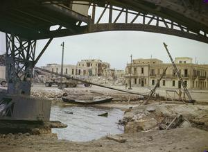 SFAX, TUNISIA AFTER AN ALLIED BOMBING RAID, JUNE 1943