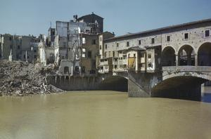 SCENES IN FLORENCE, ITALY, 14 AUGUST 1944