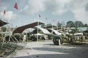 ARMY EXHIBITION AT CARDIFF, 1944