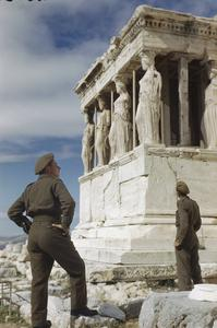 THE BRITISH ARMY IN ATHENS, GREECE, OCTOBER 1944
