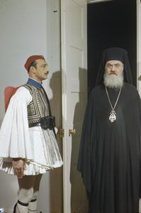 THE ARCHBISHOP REGENT DAMASKINOS OF GREECE, 15 FEBRUARY 1945
