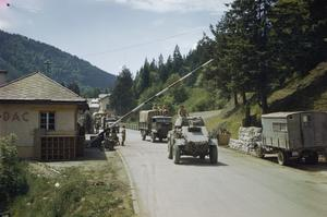 THE EIGHTH ARMY IN THE KLAGENFURT AREA OF AUSTRIA, MAY 1945