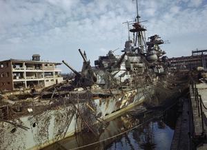 KIEL HARBOUR, GERMANY, 19 MAY 1945