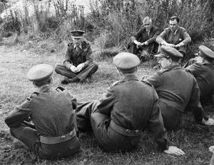 TERRITORIAL ARMY UNITS ON SALISBURY PLAIN, AUGUST 1949