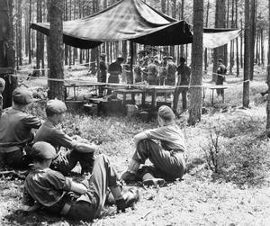 EXERCISE NORDIC, INVOLVING TROOPS FROM BRITAIN, NORWAY AND DENMARK IN NORTH GERMANY, AUGUST 1950