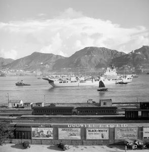BRITISH TROOPS LEAVE HONG KONG TO JOIN UNITED NATIONS FORCES IN SOUTH KOREA, SEPTEMBER 1950