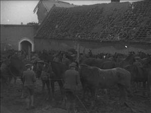 SCENES IN CAPTURED VILLAGES ON THE CAMBRAI FRONT [Main Title]