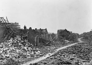 The Ruins of Loos 1915