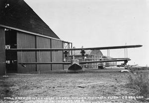 NORMAN THOMPSON N.T.4.A. PATROL FLYING-BOAT. 2 X 150 H.P. HISPANO-SUIZA ENGINES. NORMAN THOMPSON WORKS, BOGNOR, FEBRUARY, 1918