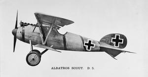 ALBATROS D.V. SINGLE-SEAT FIGHTING SCOUT