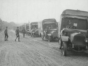 BRITISH ARMY AMBULANCE DRIVERS [Allocated Title]