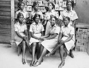 THE AUXILIARY TERRITORIAL SERVICE IN TRINIDAD, 1945