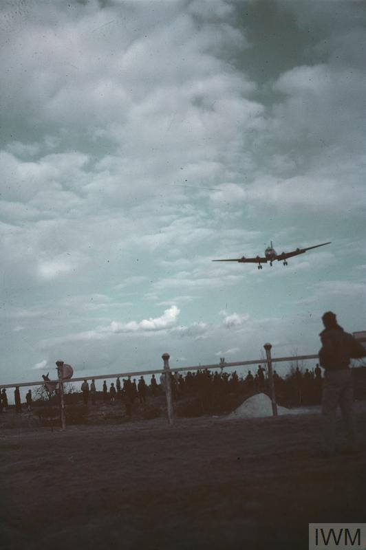 BERLIN AIRLIFT OPERATIONS, GERMANY 1948 - 1949
