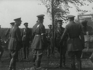 THE DUKE OF CONNAUGHT'S VISIT TO THE ARMIES [Main Title]
