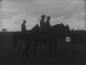 INSPECTION OF NEW ZEALAND TROOPS BY FIELD MARSHAL SIR DOUGLAS HAIG [Main Title]