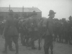 NEW ZEALAND FIELD ARTILLERY IN ACTION, NEW YEAR'S DAY 1918 [Main Title]