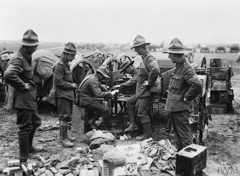 NEW ZEALAND FORCES ON THE WESTERN FRONT, 1917 - 1918