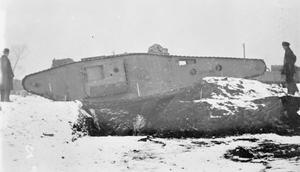 EXPERIMENTAL TANKS OF THE FIRST WORLD WAR