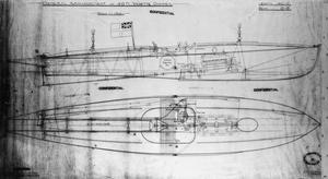 PLANS AND DRAWINGS - THORNYCROFT 40' COASTAL MOTOR BOAT