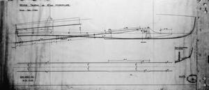 PLANS AND DRAWINGS - THORNYCROFT 40' COASTAL MOTOR BOAT