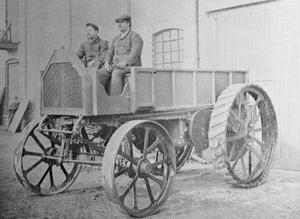 THE BRITISH ARMY TRACTORS PRIOR TO THE FIRST WORLD WAR