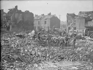AIR RAID DAMAGE IN THE UNITED KINGDOM 1939-1945