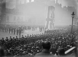 THE UNVEILING OF THE CENOTAPH, LONDON, 1920