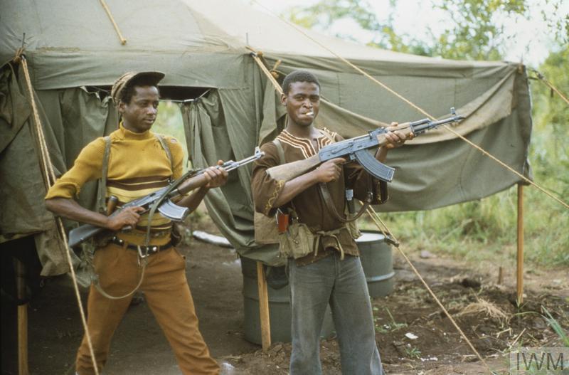 Rhodesian Bush War Books