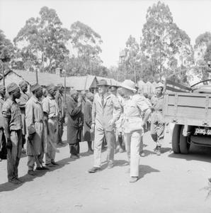 BRITISH ARMY OPERATIONS AGAINST THE MAU MAU IN KENYA 1952 - 1956