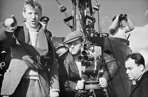 THE PRODUCTION OF A CROWN FILM: THE FILMING OF 'CLOSE QUARTERS' ON BOARD HMS TRIBUNE, 1943