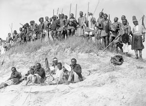 BRITISH EMPIRE TROOPS ON THE WESTERN FRONT, 1914-1918