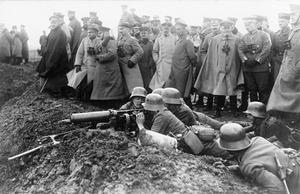 THE GERMAN ARMY ON THE WESTERN FRONT 1914-1918