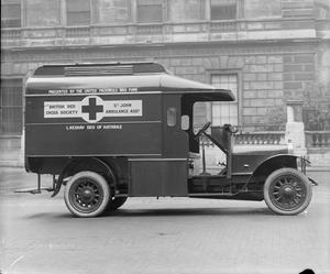 THE BRITISH RED CROSS IN THE FIRST WORLD WAR