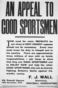 AN APPEAL TO GOOD SPORTSMEN (abbrv)
