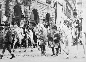 THE CORONATION OF EMPEROR CHARLES OF AUSTRIA AS KING OF HUNGARY IN BUDAPEST 1916 AND SCENES IN AUSTRIA 1912 - 1916