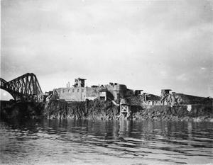 FORTH BRIDGE DEFENCES AT INCHGARVIE DURING THE FIRST WORLD WAR