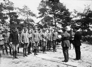 SERVICE OF SQUADRON LEADER H BUSS WITH 16 NAVAL (216 RAF) SQUADRON IN ENGLAND, IMBROS AND FRANCE, FIRST WORLD WAR