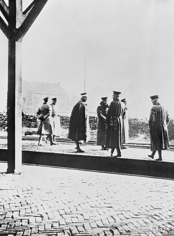 THE ABDICATION OF KAISER WILHELM II, 9 NOVEMBER 1918