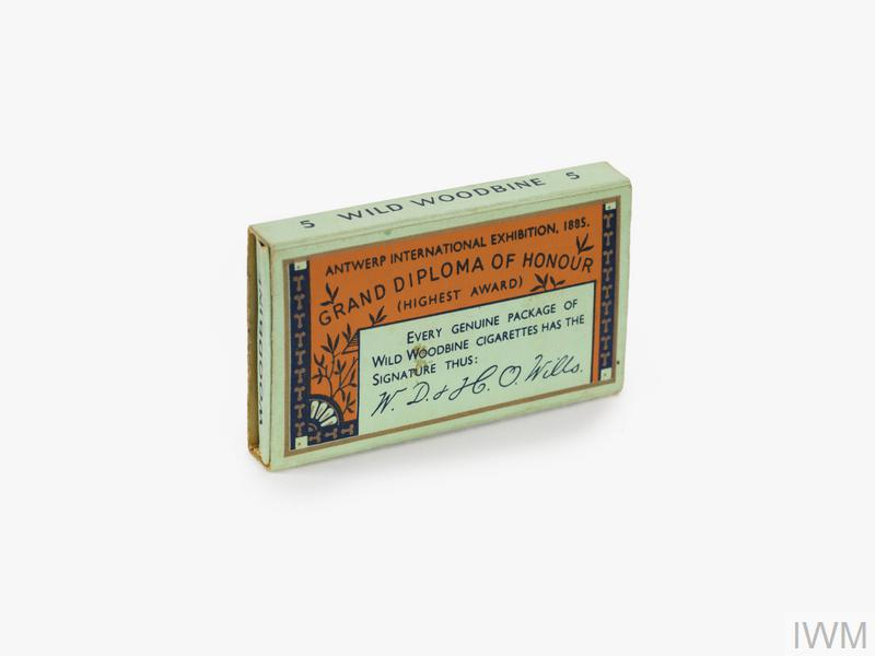 cigarettes, Wild Woodbine, packet of